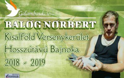 Balogh Norbert a 11. tsz hosszútávú bajnoka