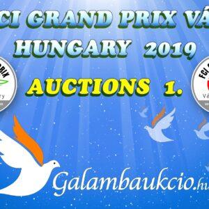 FCI Grand Prix Vác Hungary 2019. AUKCIÓ 1.
