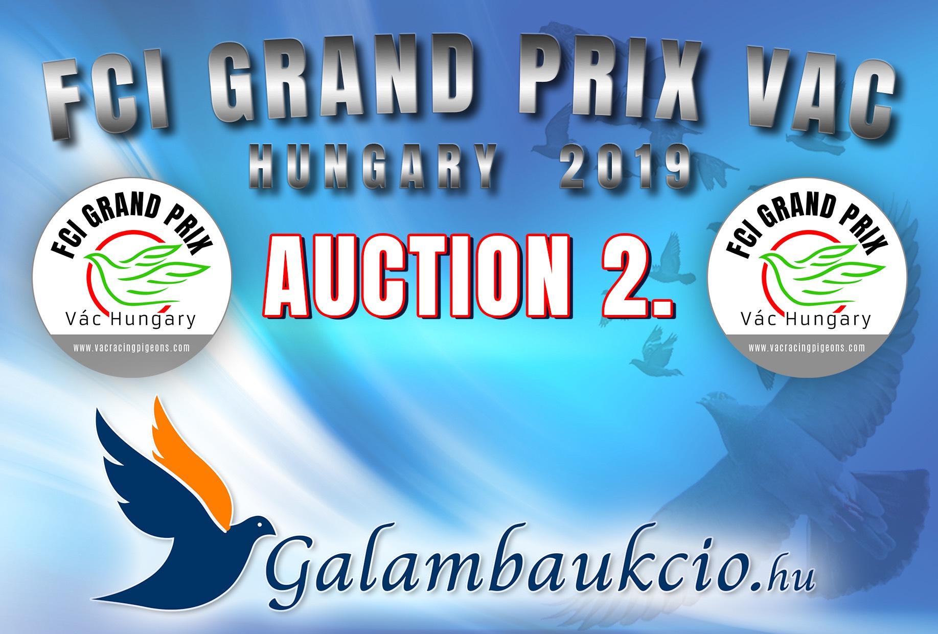 FCI Grand Prix Vác Hungary 2019. AUKCIÓ 2.