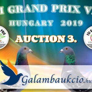FCI Grand Prix Vác Hungary 2019. AUKCIÓ 3.