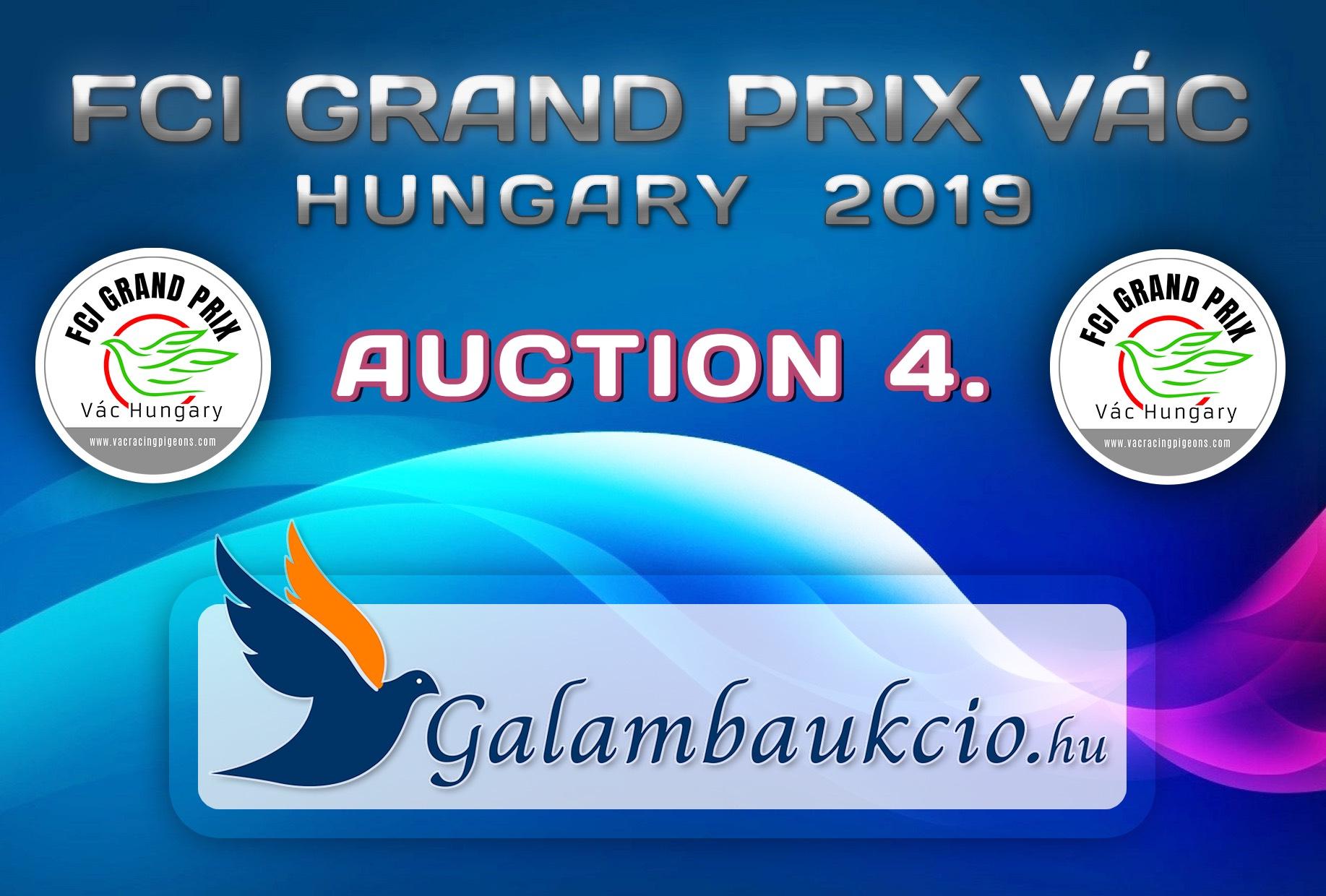 FCI Grand Prix Vác Hungary 2019. AUKCIÓ 4.