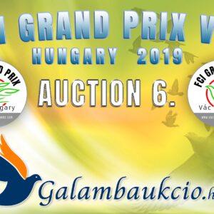 FCI Grand Prix Vác Hungary 2019. AUKCIÓ 6.
