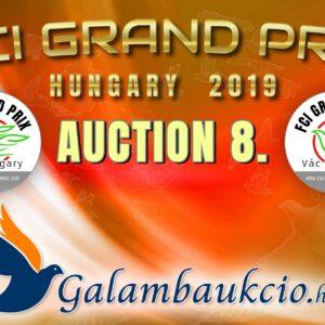 FCI Grand Prix Vác Hungary 2019. AUKCIÓ 8.