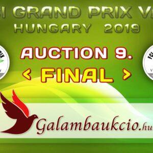 FCI Grand Prix Vác Hungary 2019. AUKCIÓ 9.