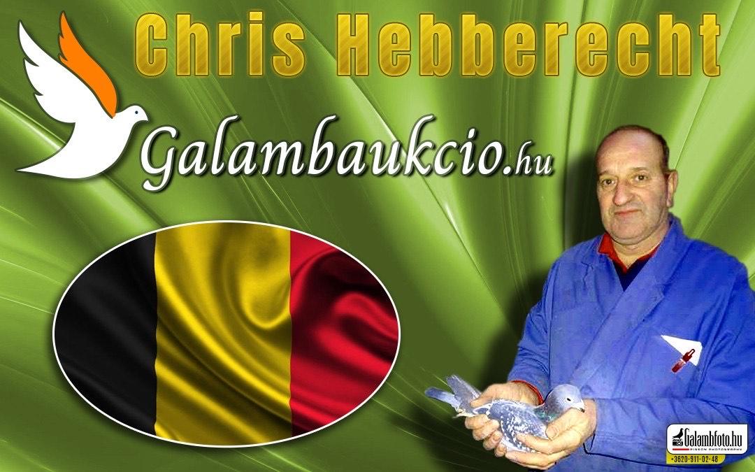 Chris Hebberecht Evergemből