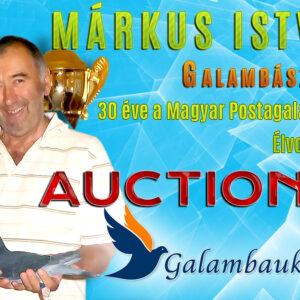 Márkus István galambjai 1. aukció