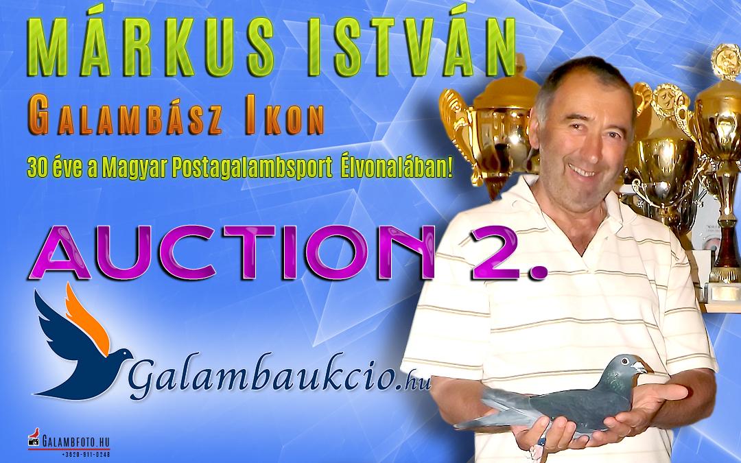 Márkus István galambjai 2. aukció
