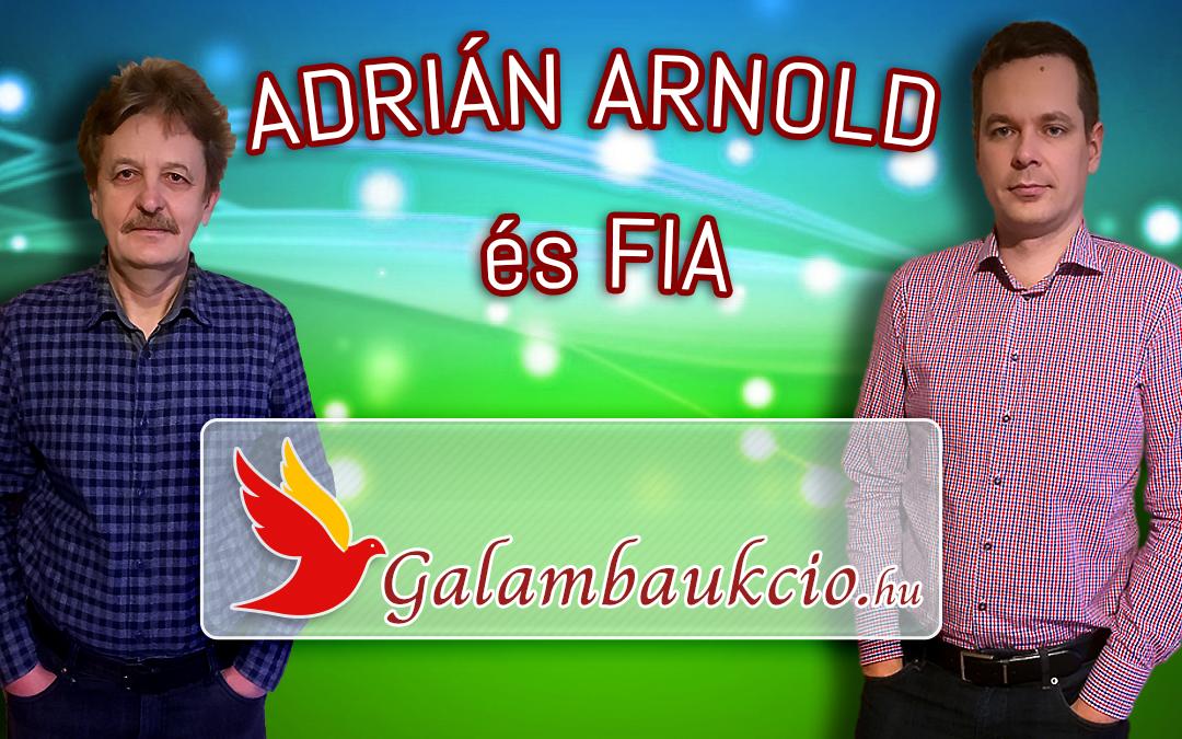 Adrián Arnold és fia – Lébény
