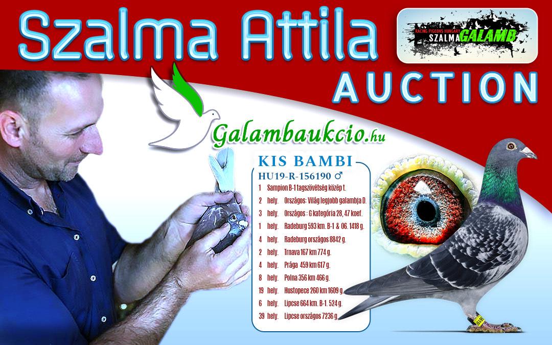 Szalma Attila aukció