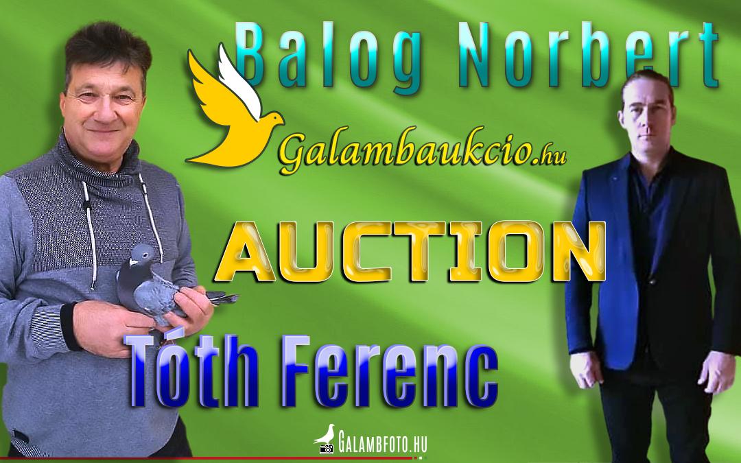 Tóth Ferenc és Balog Norbert aukció