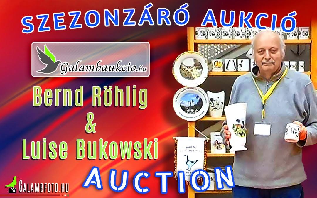 Bernd Röhlig & Luise Bukowski aukció