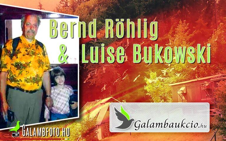 Szezonzáró Aukció, Németországól….?    Bernd Röhlig & Luise Bukowski